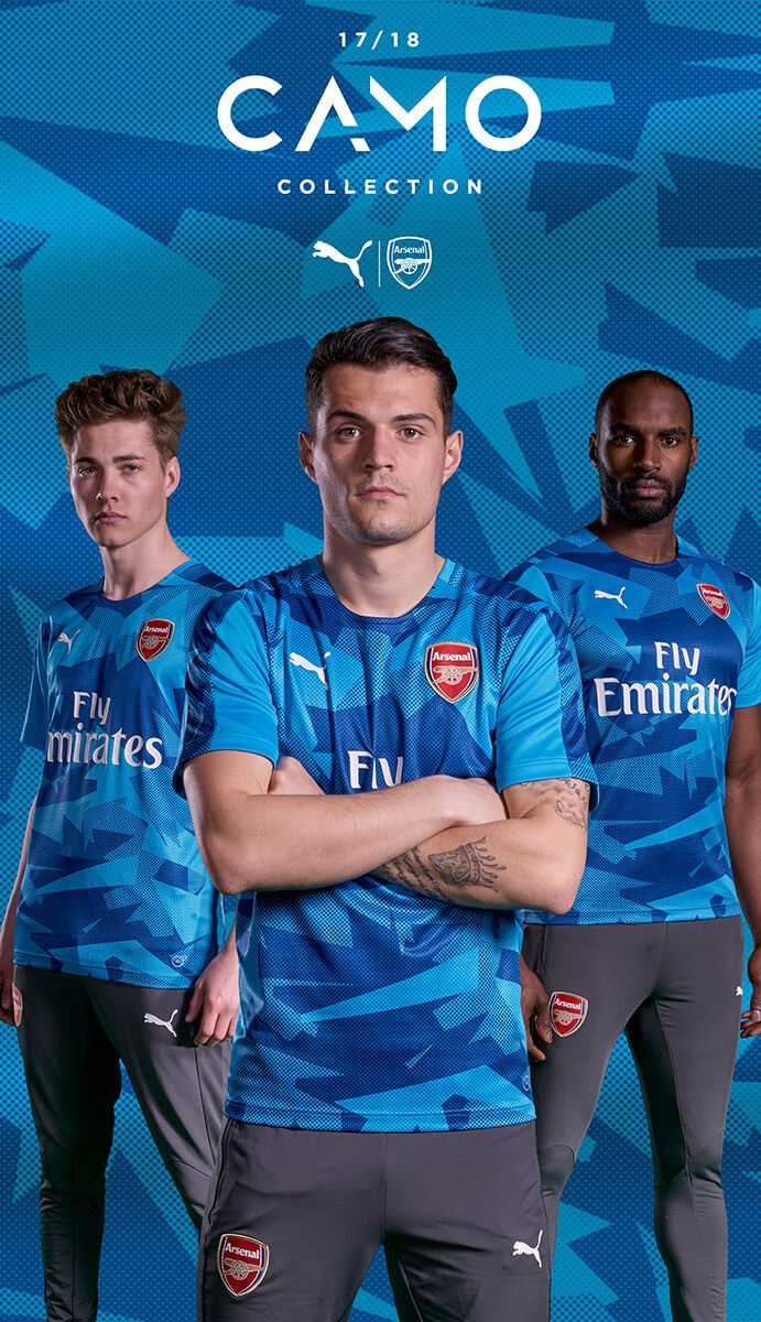 Clothing Photography for Arsenal FC