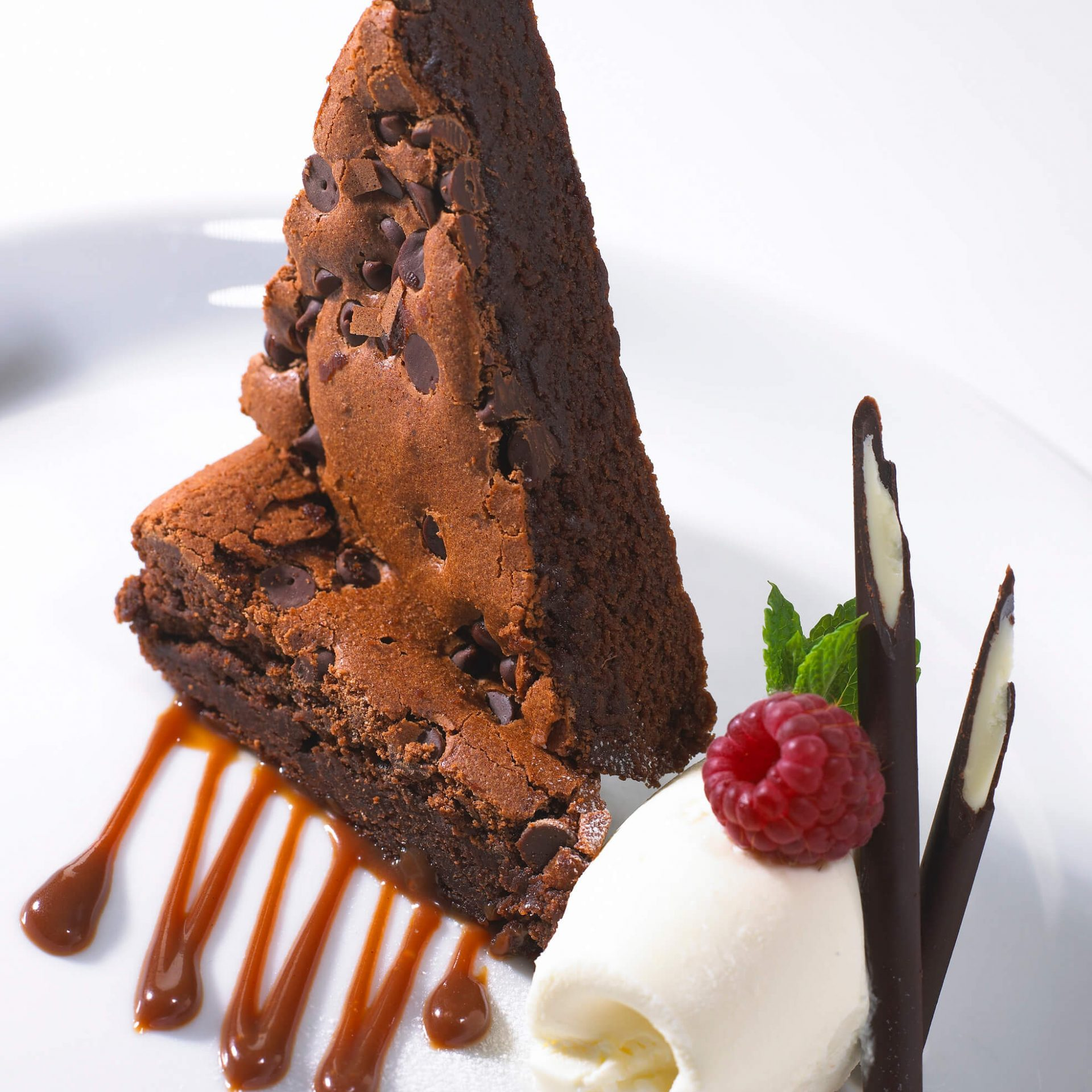 Chocolate Brownie Food Photography
