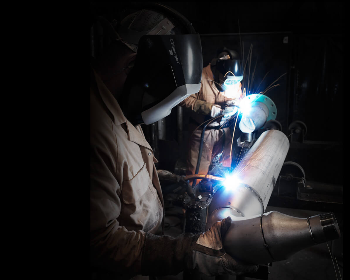 Welding Industrial Photography