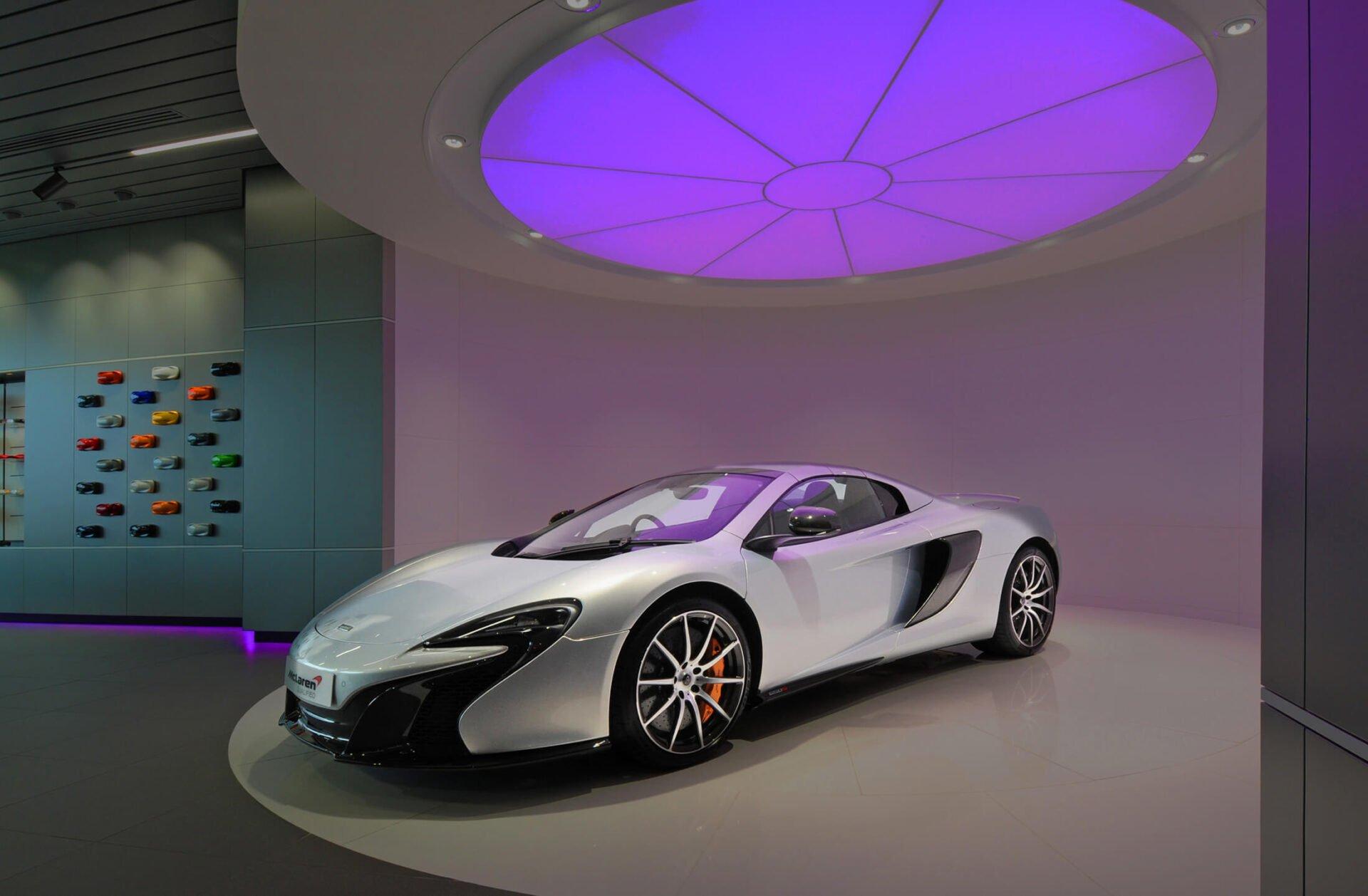 McLaren Location Photography