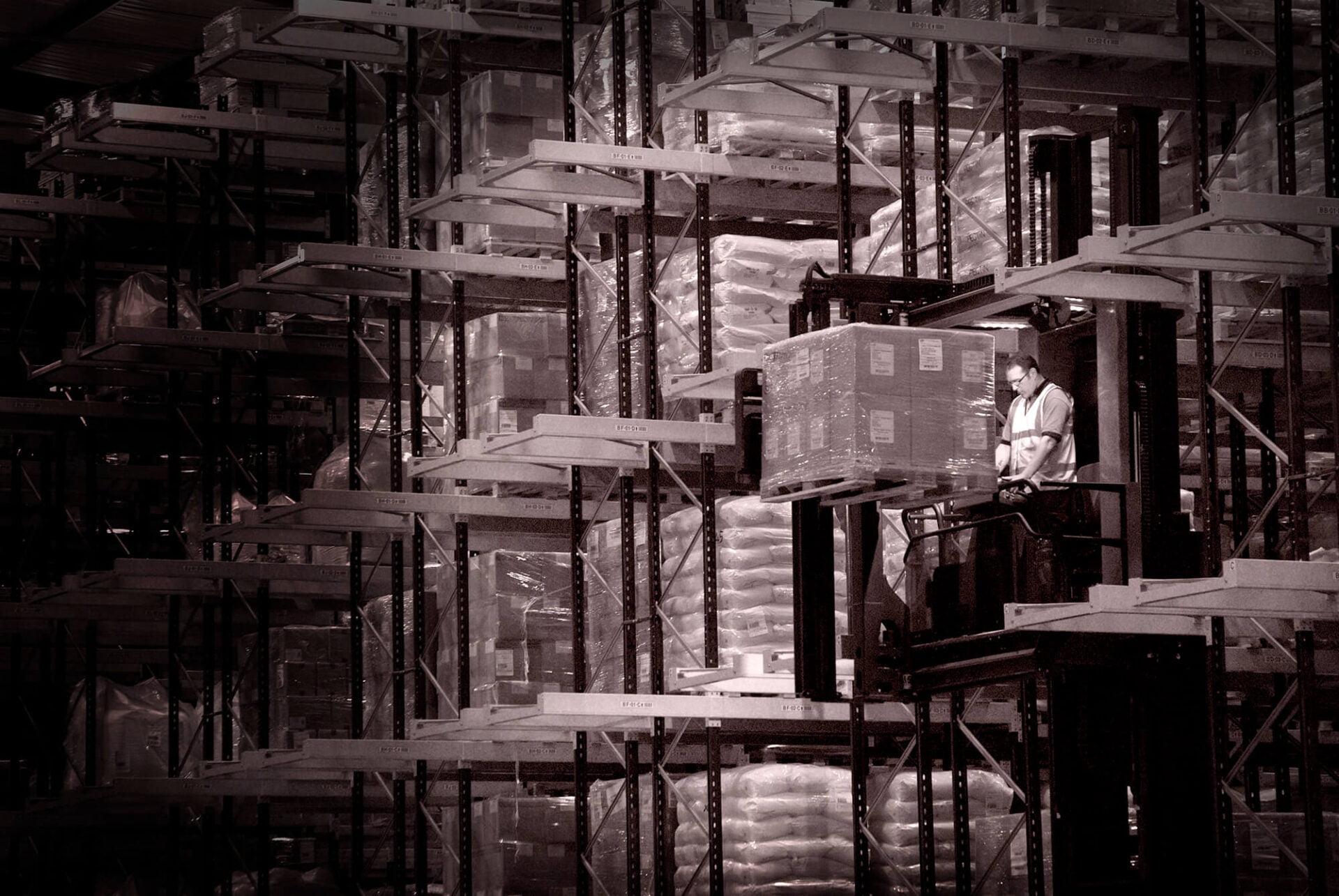 Warehouse Location Photography