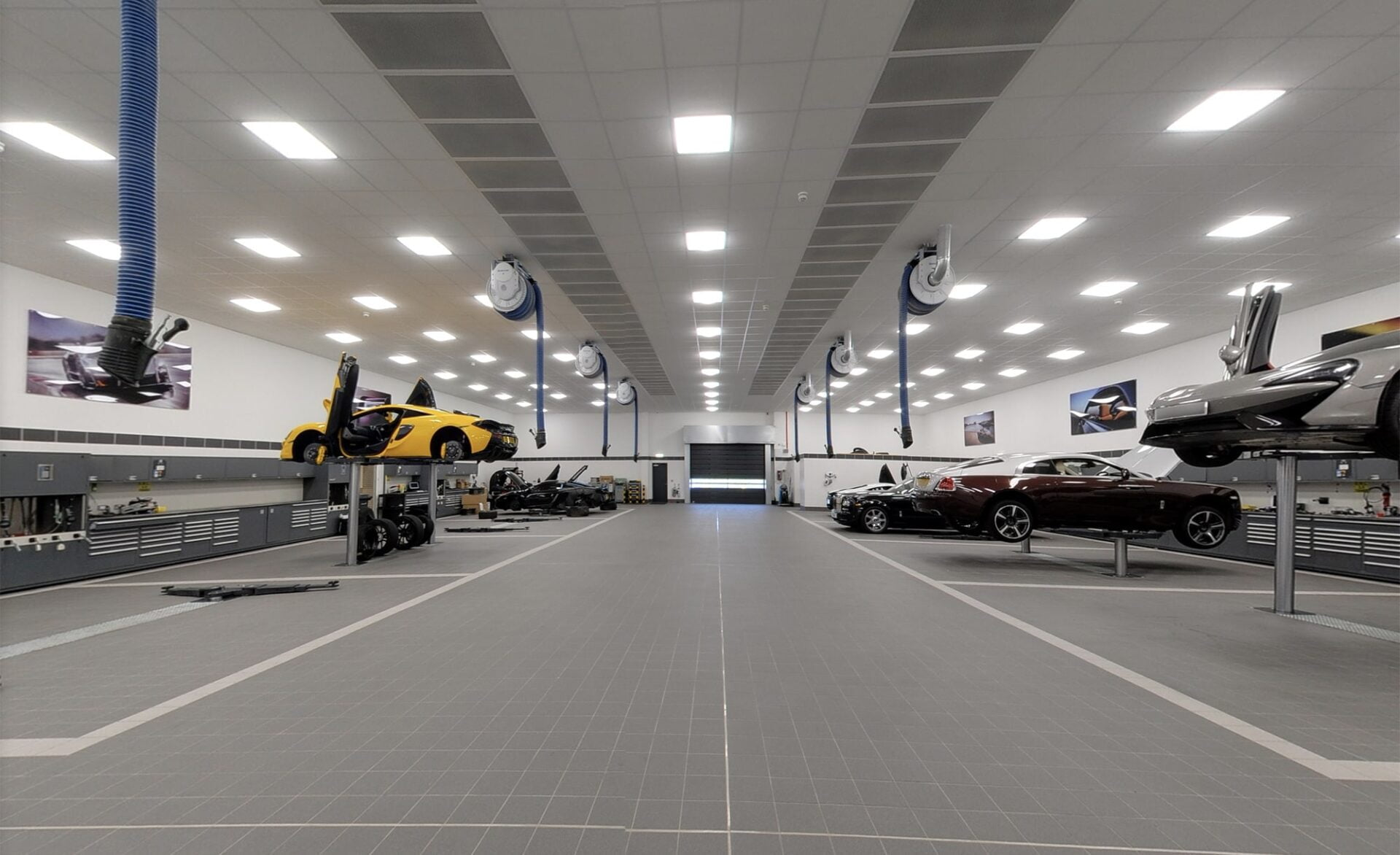 Rybrook McLaren Birmingham Aftersales Google Maps Business View Photography