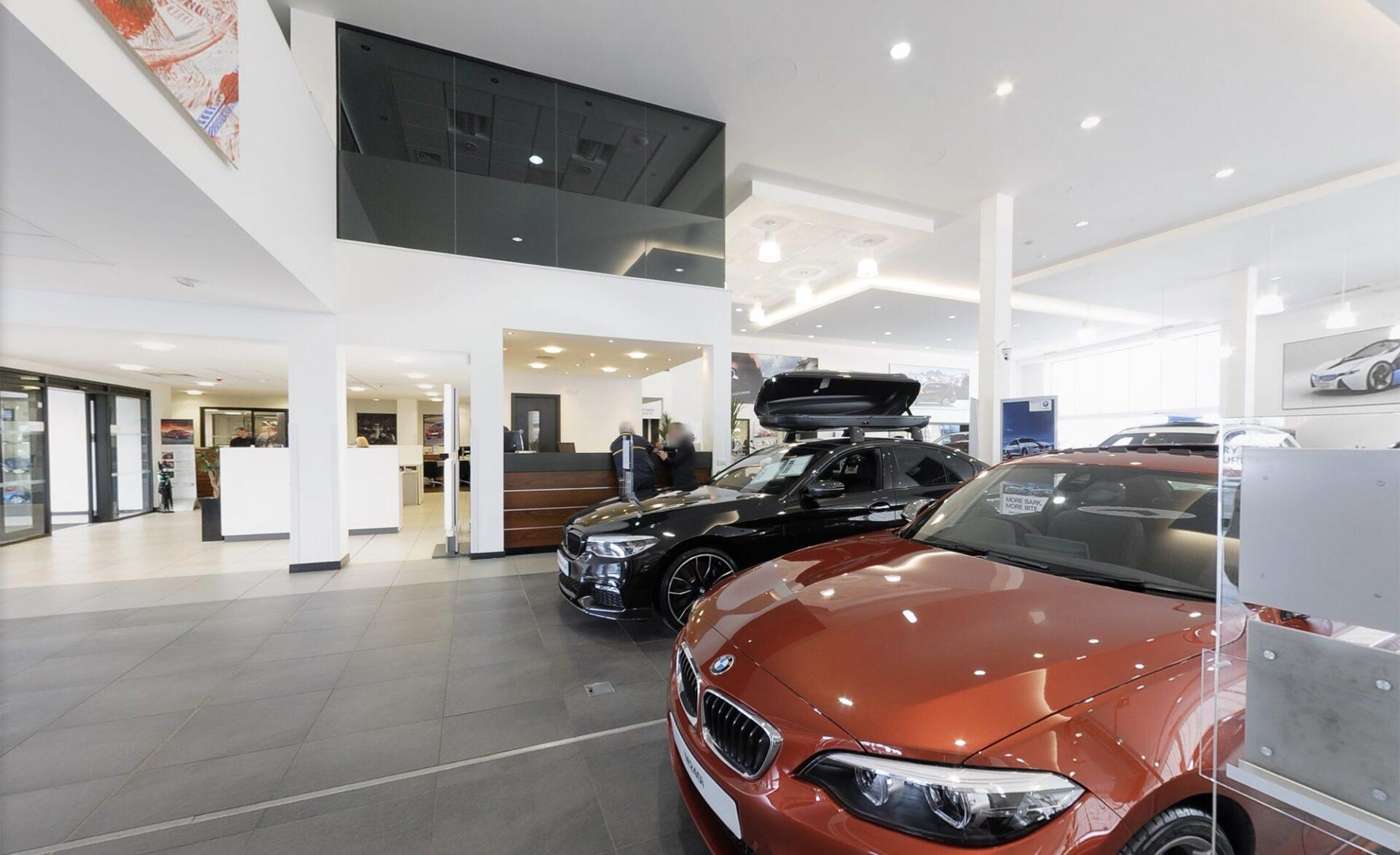 Rybrook Wolverhampton BMW Google Maps Business View Photography