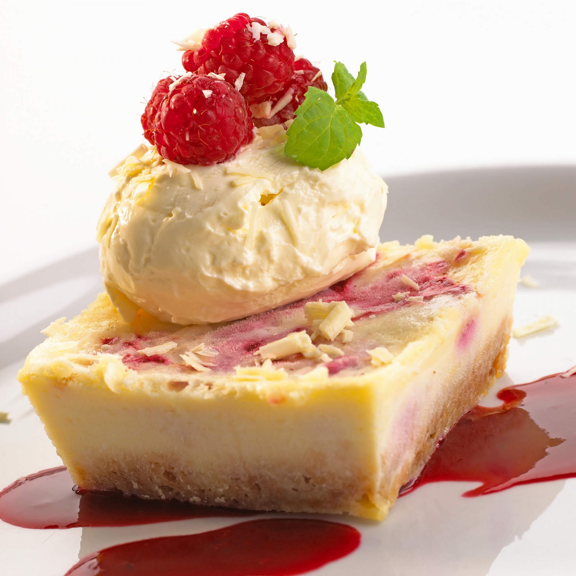 Cheesecake Food Photography