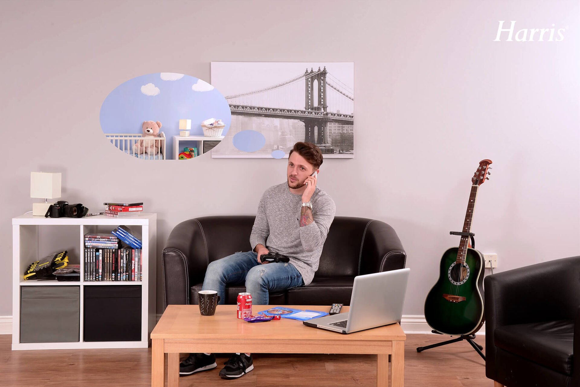 Transform your Man Cave with Harris