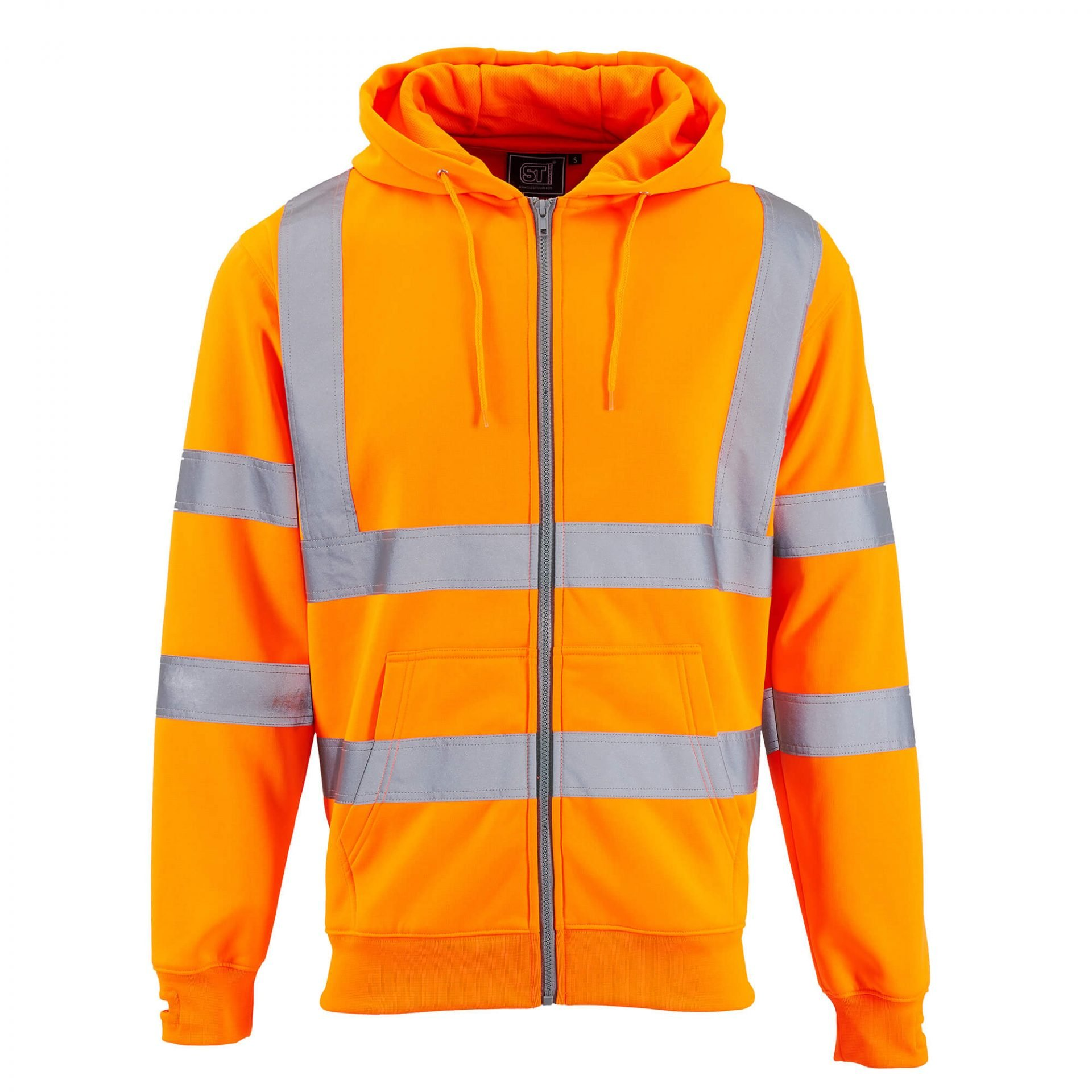 Supertouch Orange Jacket Invisible Mannequin Photography