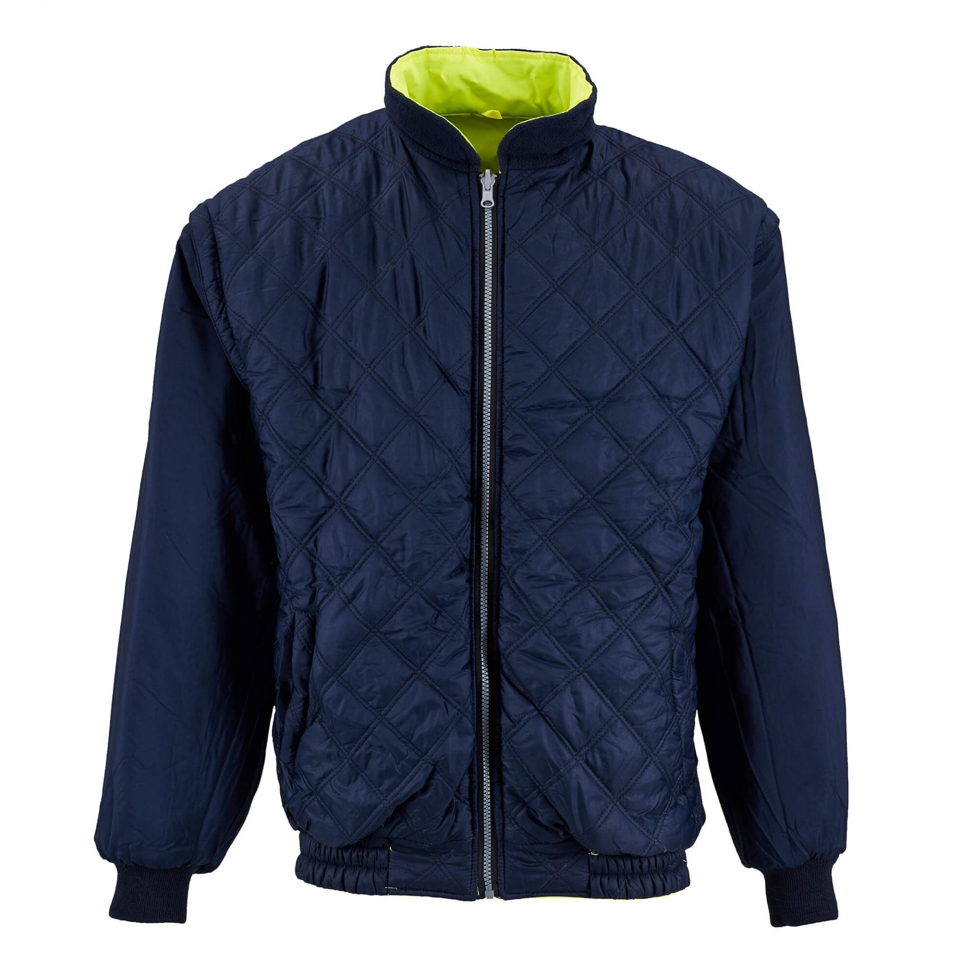 Supertouch Quilted Jacket Invisible Mannequin Photography