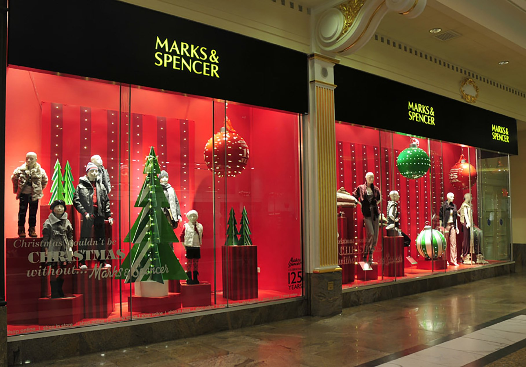 Marks & Spencer Retail Photography