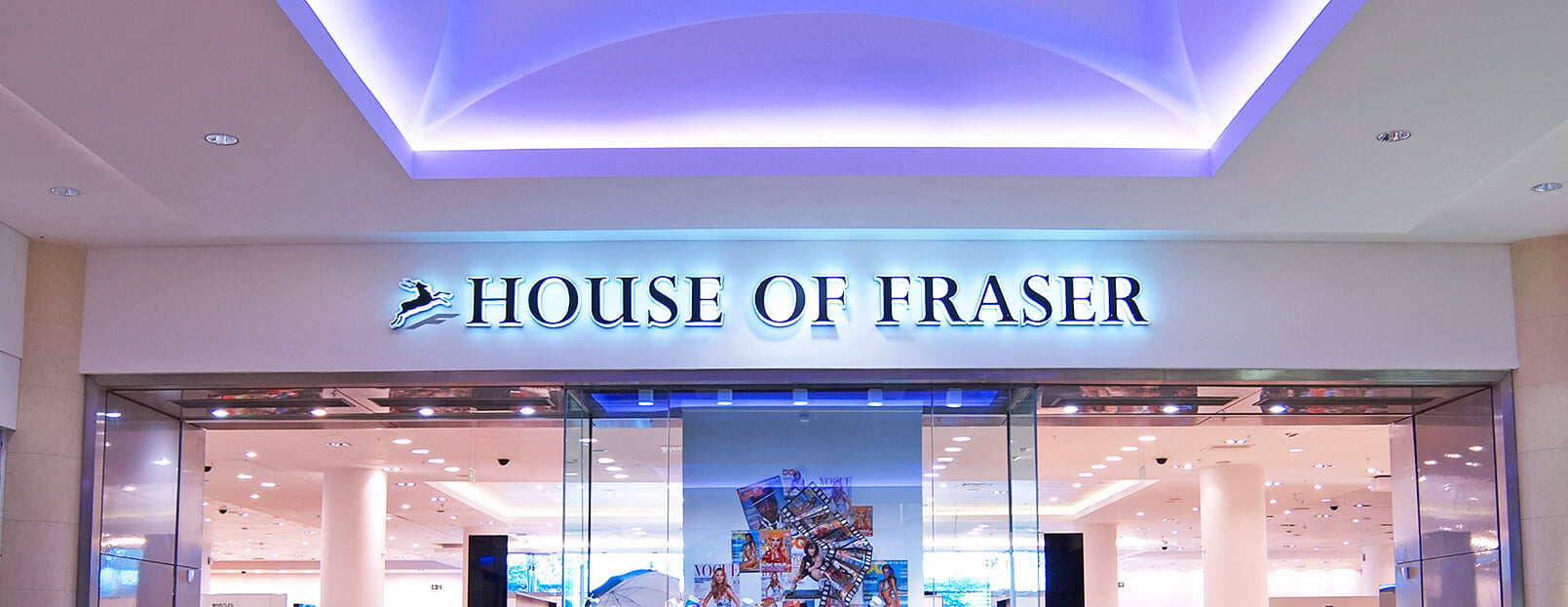 House of Fraser Retail Photography