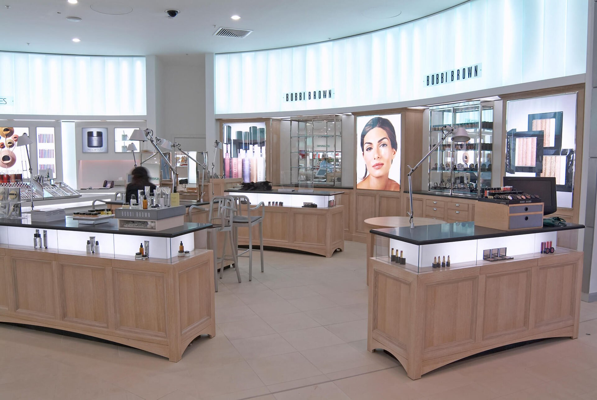 Bobbi Brown Retail Photography