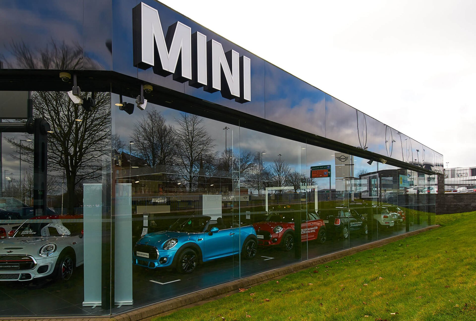 MINI Retail Photography