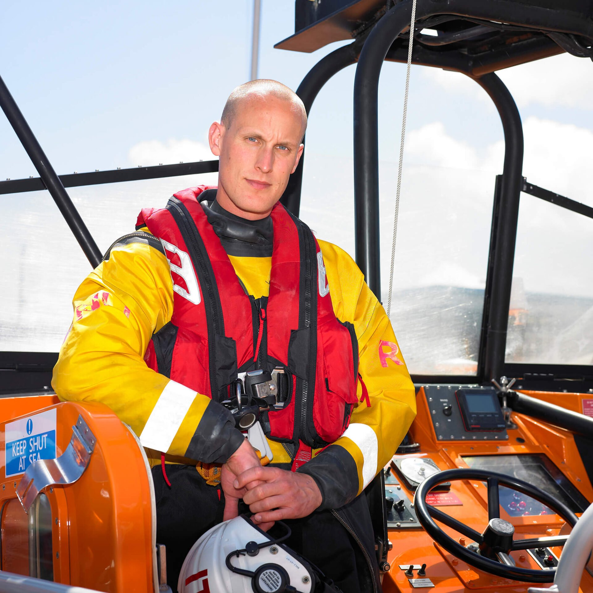 RNLI Poole PR Location Photography