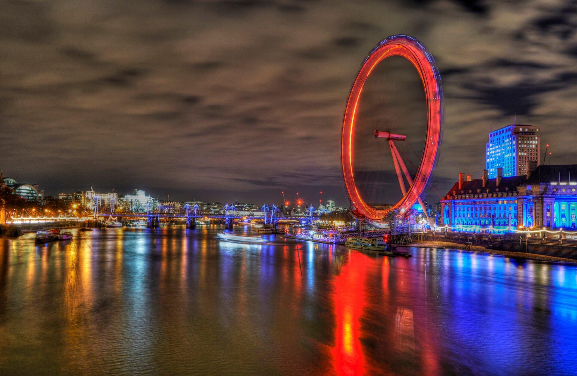 Photography location London Eye