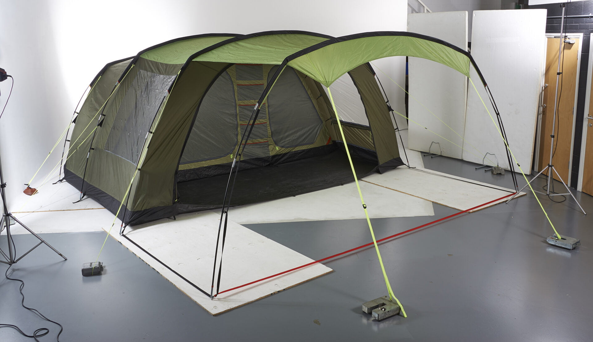 product photography Birmingham tent Halfords 01